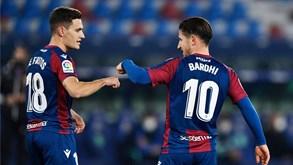 Levante-Athletic Bilbau: anfitriões em vantagem graças ao golo fora