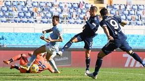 Juventus-Lazio: equipa de Cristiano Ronaldo com visitante perigoso