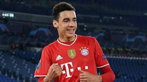 Musiala assina primeiro contrato como profissional com o Bayern Munique