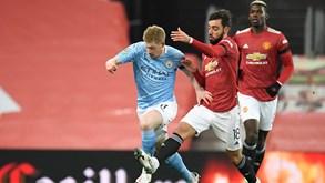 Manchester City-Manchester United: dia de jogo grande na Premier League