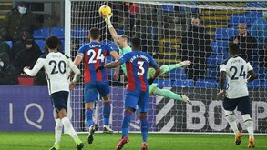 Tottenham-Crystal Palace: equipa de Mourinho procura manter bom momento