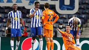 Juventus-FC Porto: dragão em vantagem