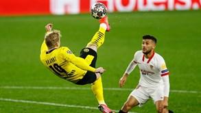 Borussia Dortmund-Sevilha: alemães procuram confirmar vantagem