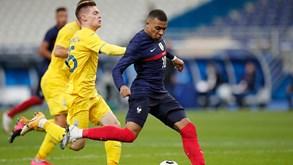 França-Ucrânia: campeão arranca caminhada