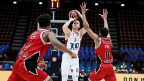 Baskonia-Olimpia Milano: italianos melhores no confronto direto