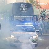 Detenção e um ferido na chegada do autocarro do Sporting a Faro