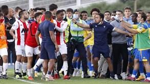 Estoril é campeão da Liga Revelação após jogo com final polémico e confrontos
