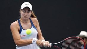 Jelena Ostapenko-Stefanie Voegele: tenista suíça melhor no confronto direto