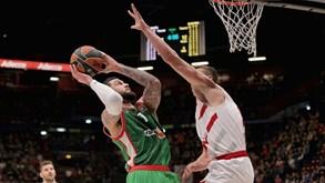 Olimpia Milano-Bayern: duelo dos quartos-de-final da Euroliga de basquetebol