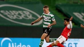 """Agenda desportiva: Braga promete ser """"pedreira"""" no sapato do Sporting"""