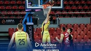MoraBanc Andorra-Fuenlabrada: acerto de calendário na Liga ACB