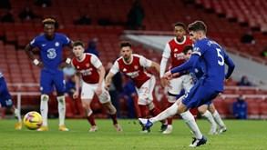 Chelsea-Arsenal: dérbi londrino anima noite na Premier League