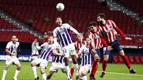 Valladolid-Atlético Madrid: um título e uma permanência em discussão