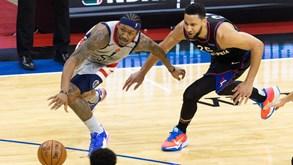 Philadelphia 76ers-Washington Wizards: 76ers com domínio avassalador no confronto direto