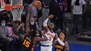 New York Knicks-Atlanta Hawks: forasteiros venceram apenas um dos cinco últimos confrontos