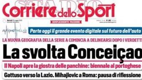Sérgio Conceição em destaque nos jornais italianos: ida para o Nápoles ganha forma