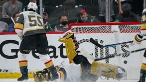 Vegas Golden Knights-Minnesota Wild: hora da 'negra' no playoff da NHL