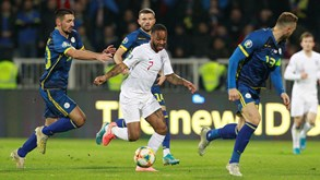 Inglaterra-Áustria: afinar estratégia para o Euro'2020