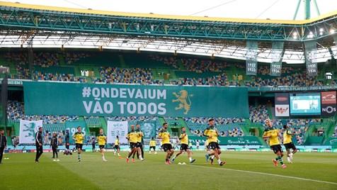 O Onze Do Sporting Para O Jogo Com O Boavista Liga Nos Jornal Record