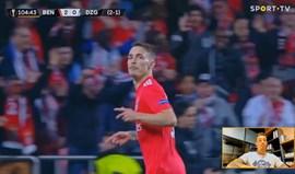 Grimaldo revela qual o melhor golo que marcou pelo Benfica: «São muitos anos a treiná-lo»