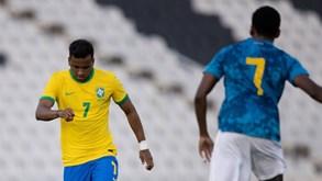 Cabo Verde vence particular frente à seleção olímpica do Brasil
