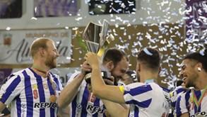 A festa do FC Porto pela conquista da Taça de Portugal de andebol