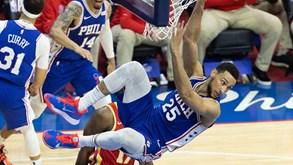 Atlanta Hawks-Philadelphia 76ers: tudo empatado nas 'meias' do Este da NBA