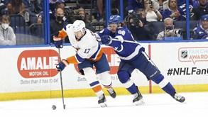 TB Lightning-NY Islanders: duelo da segunda mão das 'meias' do playoff da NHL