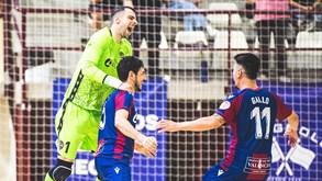 Valdepeñas-Levante: Jogo 2 das 'meias' do playoff do campeonato espanhol de futsal