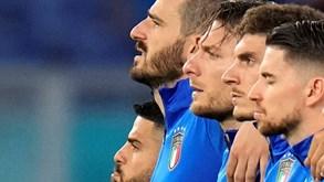 Itália-País de Gales: luta pelo 1.º lugar no Grupo A do Euro'2020