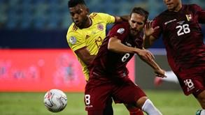 Colômbia-Peru: duelo da Copa América