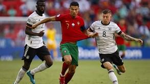 As notas dos jogadores de Portugal frente à Alemanha: Cristiano Ronaldo deu lição de humildade