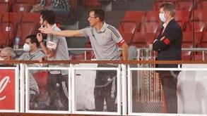 Alejandro Dominguez deixa Benfica