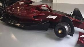 As primeiras imagens dos carros da Fórmula 1 para 2022