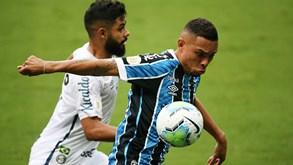 Grêmio-Santos: equipa da casa tenta primeira vitória