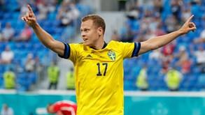 Suécia-Ucrânia: encontro de 'outsiders' pelos 'quartos' do Euro'2020
