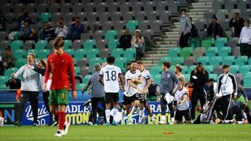 Portugal Perde Com A Alemanha E Ve Titulo Europeu De Sub 21 Escapar Se Pela 3 ª Vez Europeu Sub 21 Jornal Record