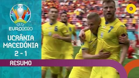 Drei Tore und zwei Elfmeter kassiert: Ukraine und Nordmazedonien Zusammenfassung