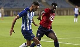 As notas dos jogadores do FC Porto frente ao Lille, com análise à lupa aos reforços