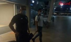 Vídeo Record: a chegada de Uribe ao Algarve