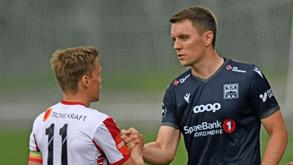Kristiansund BK-SK Brann: último visita o quarto na Noruega