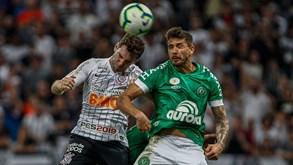 Chapecoense-Corinthians: encontro da 10.ª ronda do Brasileirão