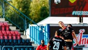 Kalmar-Häcken: duelo do campeonato sueco de futebol