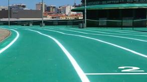 Cidade Sporting continua a ganhar forma: pista de tartan em redor do estádio