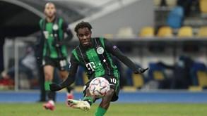 VMFD Zalgiris-Ferencvaros: húngaros com dois golos de vantagem
