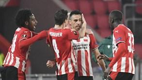 Galatasaray-PSV Eindhoven: holandeses com um 'pé e meio' na próxima fase