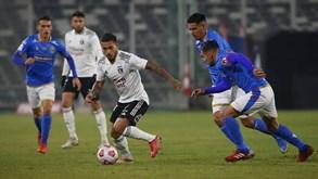 Sant. Wanderers-Colo Colo: equipas separadas por 17 pontos