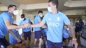Uribe já se juntou ao estágio do FC Porto no Algarve