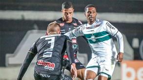 Coritiba-Náutico PE: jogo de topo na Série B do Brasileirão