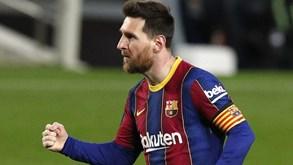 Laporta sem descanso para renovar com Messi